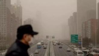 生态环境部:一季度PM10平均浓度同比上升13.6%