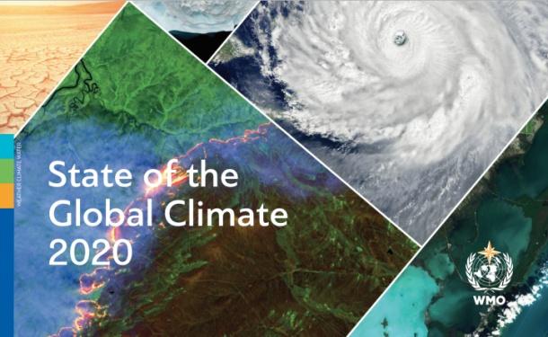 世界气象组织:2020是有记录以来三个最暖年份之一
