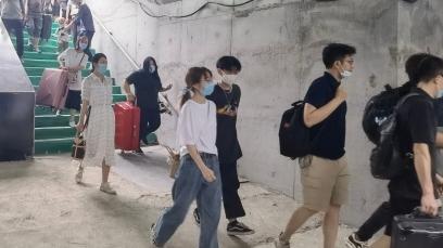 京唐铁路燕郊站旅客地道完成升级改造