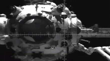 太空对接一瞬,视频来了!