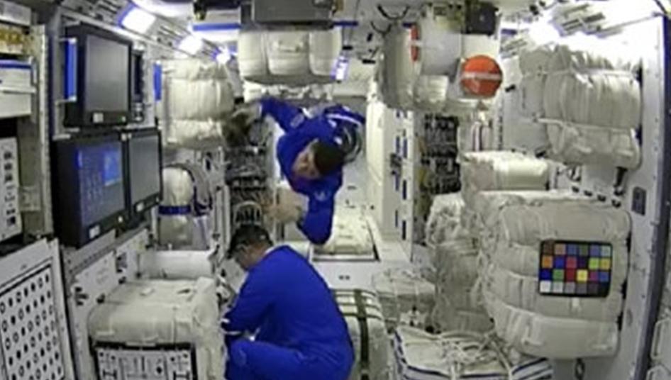三名航天员进驻天和核心舱!中国人首次进入自己的空间站