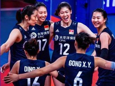 五连胜!中国女排战胜俄罗斯女排