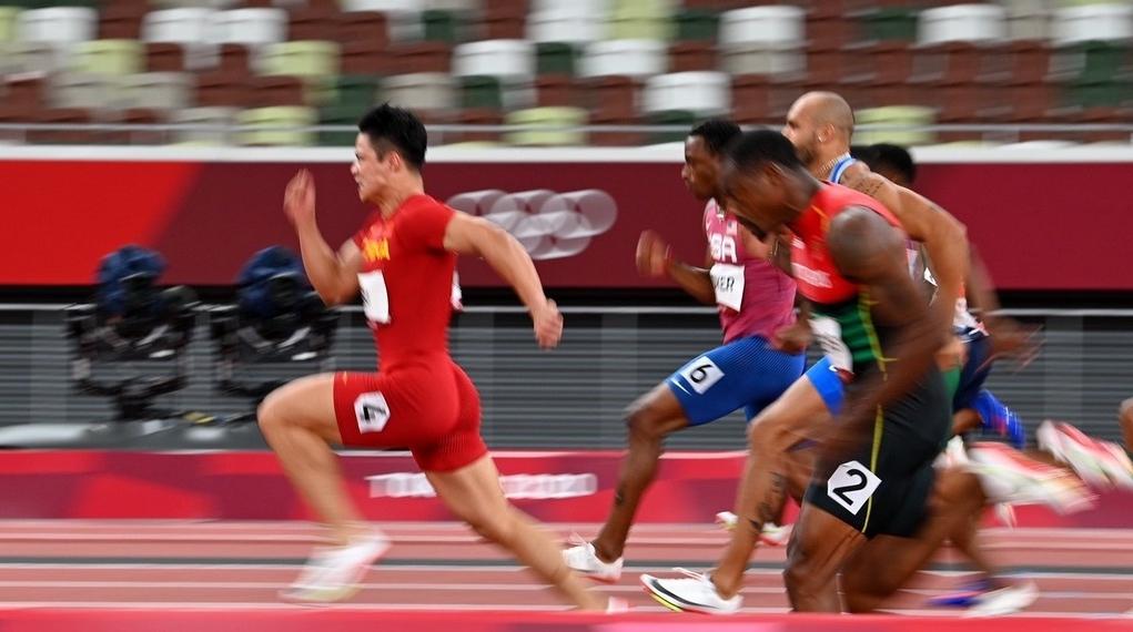 排名第一!苏炳添闯入东京奥运会男子100米决赛!