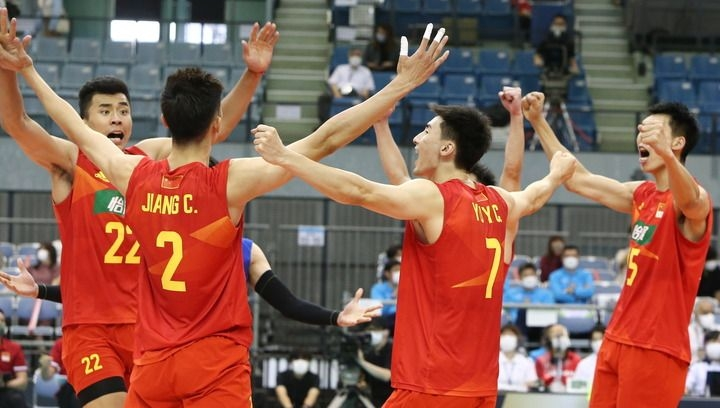 中国男排时隔6年再次杀入亚洲锦标赛四强