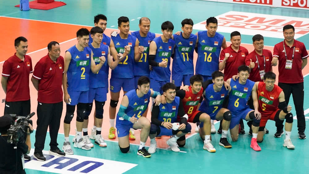 站上新起点!中国男排亚锦赛第三并获世锦赛门票