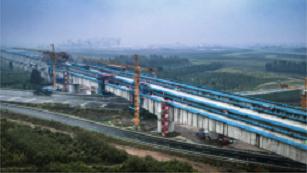 北京两大机场联络线最大跨度连续梁全部合龙