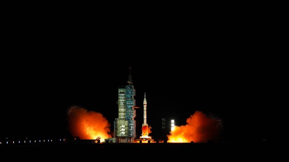 神舟十三号载人飞船发射取得圆满成功