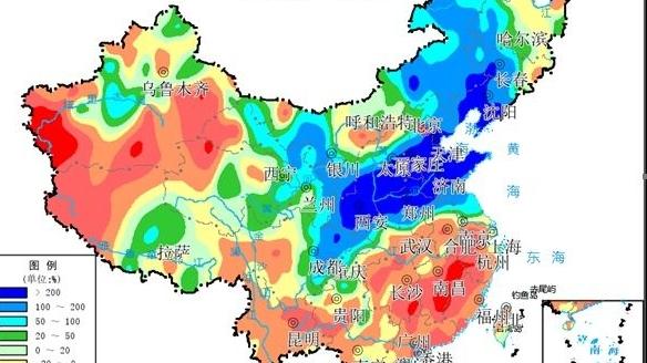"""今秋为啥""""北方多雨、南方高温""""?专家解析来了"""